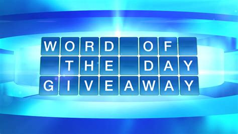 The Doctor S Word Of The Day Giveaway - thedoctorstv com giveaways the doctors word of the day giveaway sweepstakes lovers