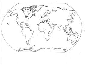 flat earth color blank world map printable black and white best photos of