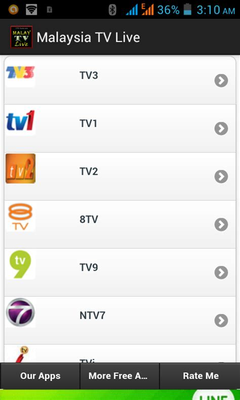 Tv Malaysia free malaysia tv live apk for android getjar