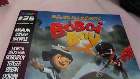 Majalah Komik preview majalah komik boboiboy malaysia