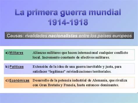 Resumen 1 Guerra Mundial by Primera Guerra Mundial Resumen