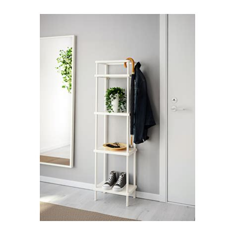 ikea bathroom shelves dynan shelf unit white 40x27x148 cm ikea