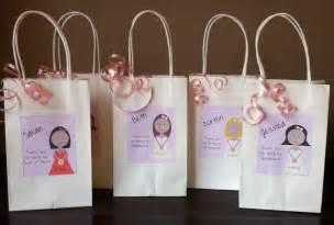 bridal gift bags bridesmaid gift bag personalized gift bridal gift