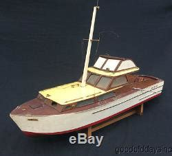custom remote control boats vintage 36 wood rc model motor boat cruiser custom remote