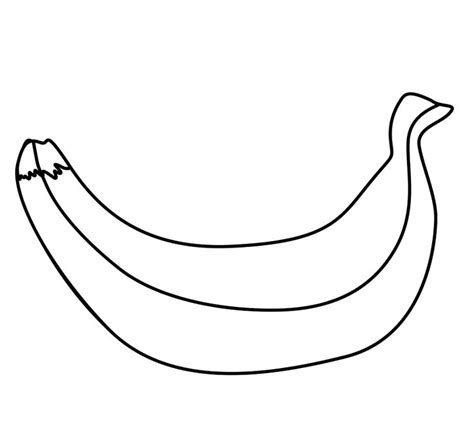 banana peel coloring pages