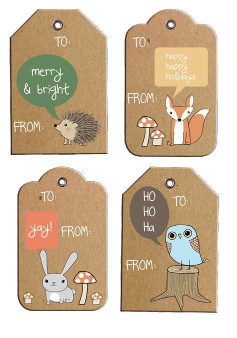 free printable christmas gift tags on pinterest rustic woodland holiday gift tags free printable