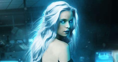 killer frost takes    flash poster gaming illuminaughty