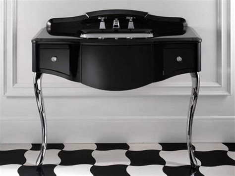 bathroom console tables black lacquered console table bathroom console vanity by devon devon