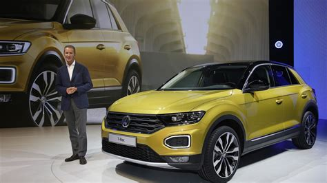 vw t roc 2018 vw t roc gets ready to rock europe as a stylish cuv