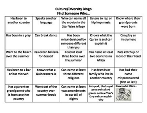 diversity bingo template diversity bingo cards pictures to pin on pinsdaddy