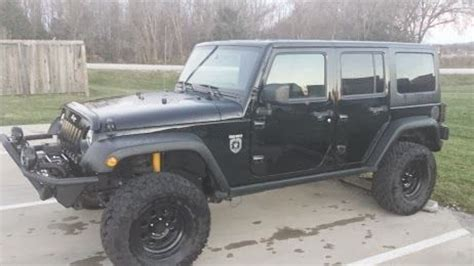 2011 Call Of Duty Jeep For Sale Find Used 2011 Jeep Wrangler Unlimited Rubicon Black Ops