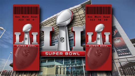 superbowl tickets super bowl 2017 wallpapers wallpaper cave