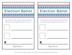 election ballots template write in ballot template just b cause