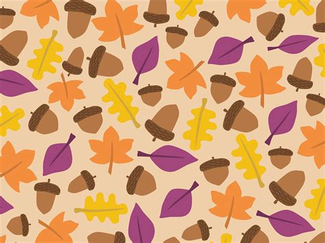 pattern in art powerpoint free vector graphic acorn autumn background boxes