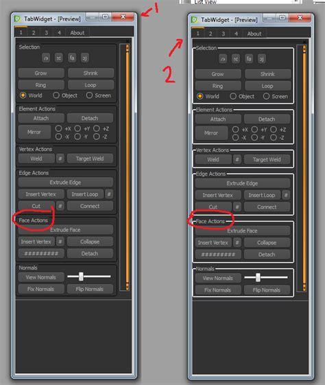 qt designer layout border qt designer stylesheet help coding tools and pipelines