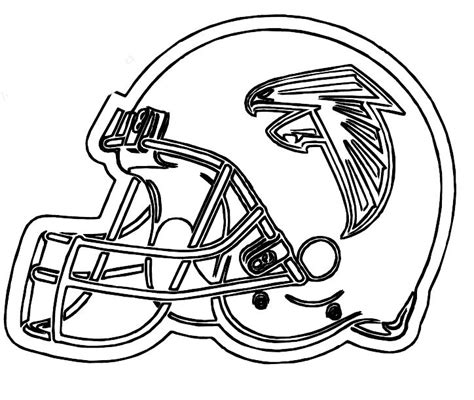 coloring pages nfl football helmets free coloring pages of nfl