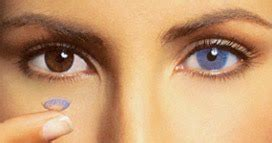 blue contacts for your brown eyes | style wile