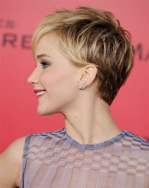 pictures of short hair do s back dise and front views jennifer lawrence s pixie
