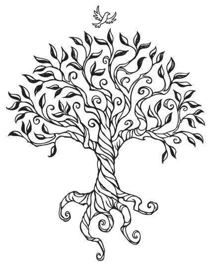 drawings of trees search wood burning ideas
