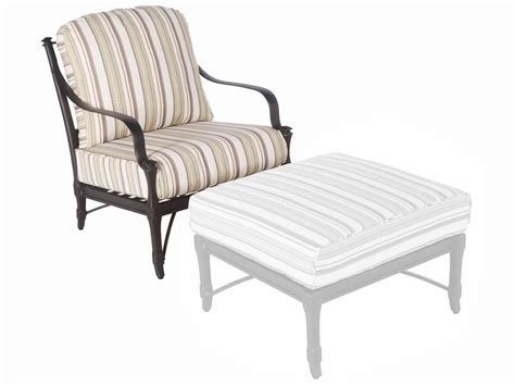 Striped pale tan cushion patio outdoor replacement patio chair furniture cushions patio chair