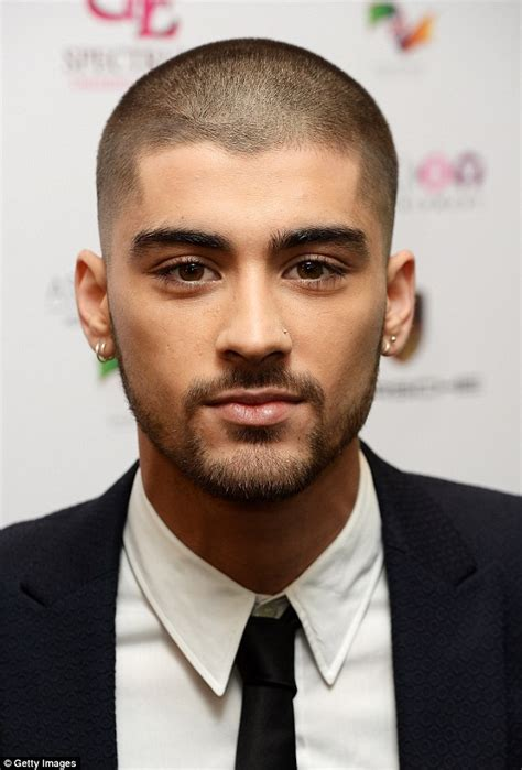 whos that asian bald headed in cadillac commercial zayn malik reveals buzzcut as he takes mum to asian awards