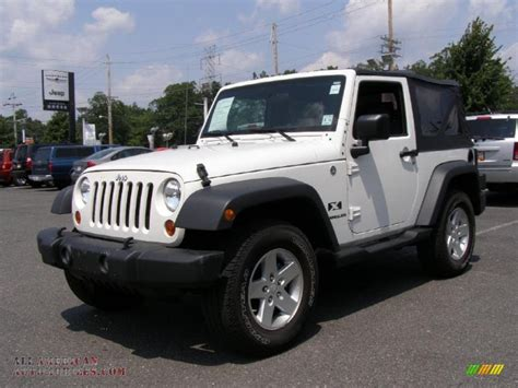 White Jeeps For Sale 2009 Jeep Wrangler X 4x4 In White 743356 All