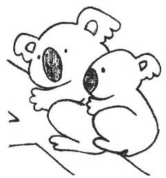 koalas coloring pages