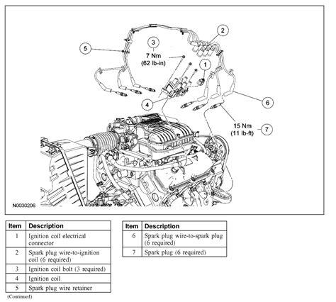 spark wire diagram 2006 ford freestar spark wire diagram 42 wiring