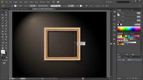 pattern frame illustrator adobe illustrator tutorial 33 ramka styl graficzny