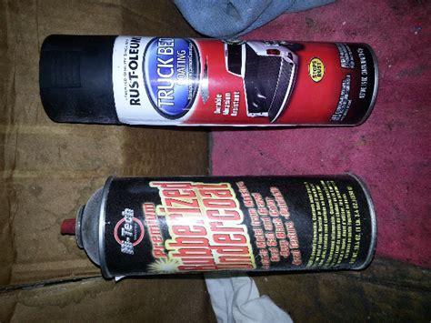 rustoleum bed liner colors best spray can undercoating or bedliner jeep cherokee forum