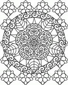 challenging coloring pages for adults printable difficult coloring pages coloring home