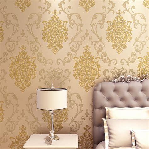 Metalic Design new design golden metallic wallpaper