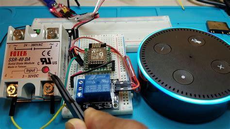 iot diy home automation  alexa control multiple devices esp esp  tutorial