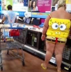 Spongebob wal mart people people of wal mart funny people dump a