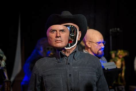 film cowboy robot a mechanized sculpture of yul brynner as the westworld