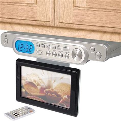 under cabinet television for kitchen awesome under cabinet kitchen tv 2 walmart kitchen under