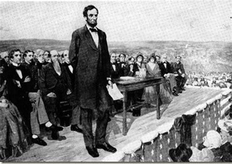 gettysburg speech lincoln commemorating the gettysburg address district of calamity