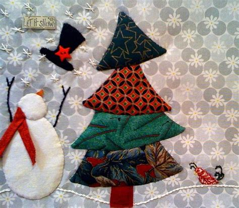 christmas tree mat pattern holiday mug rug almost ready to quilt edyb1 flickr