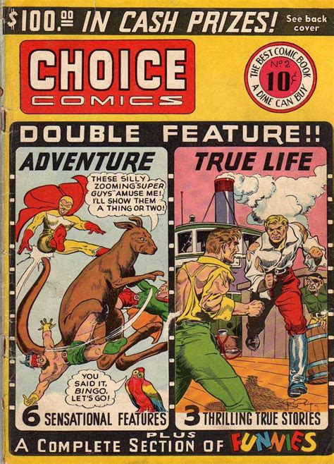 choice comics 2 great comics publications