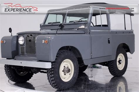land rover for sale florida used 1965 land rover series iia 88 for sale fort