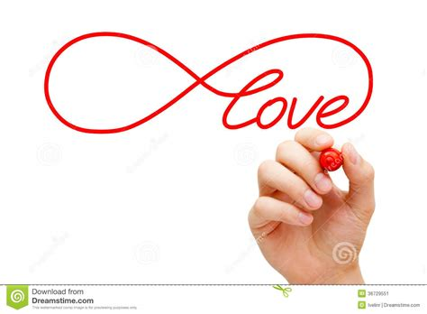 love infinity concept stock image image 36729551
