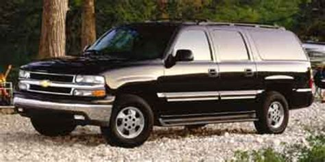 2003 chevrolet suburban (chevy) review, ratings, specs