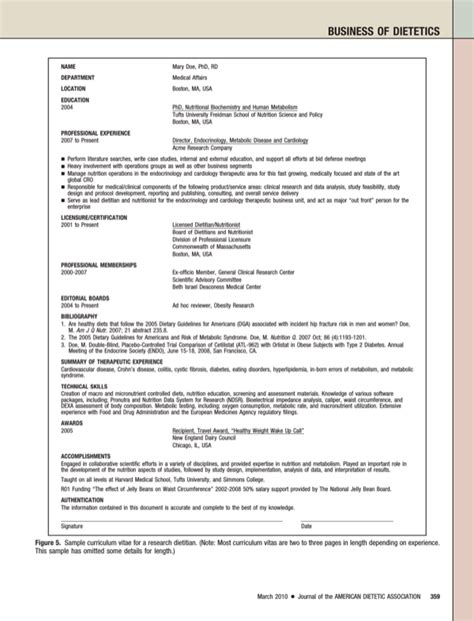 Resume Entry Level Dietitian entry level dietitian resume for free page 7