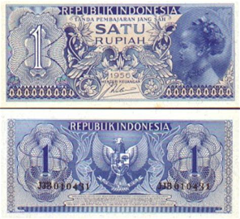 50 Rupiah Jaman Dahulu rincian singkat tentang mata uang indonesia jaman dahulu
