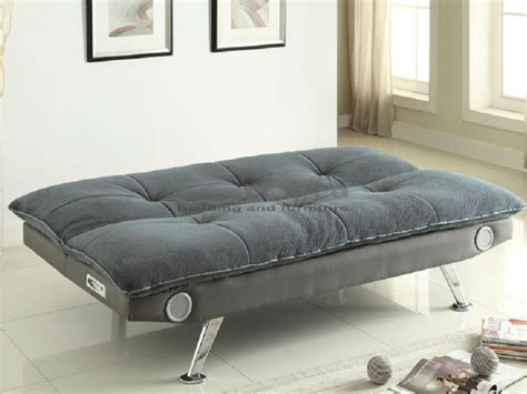 gray sofa bed coaster 500046 gray chion bluetooth pillow top sofa bed