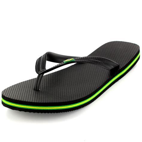 12 Flip Flops by Mens Brazil Logo Summer Brasil Sandals Shoes