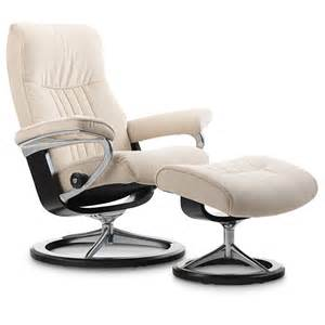 Ekornes Stressless Recliner Stressless 174 Crown Chair And Ottoman Saybrook Country Barn