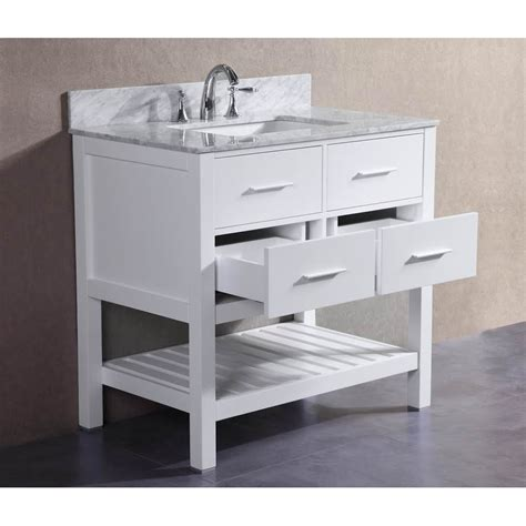 signature bathroom vanities belvederebath signature series 36 quot single london bathroom