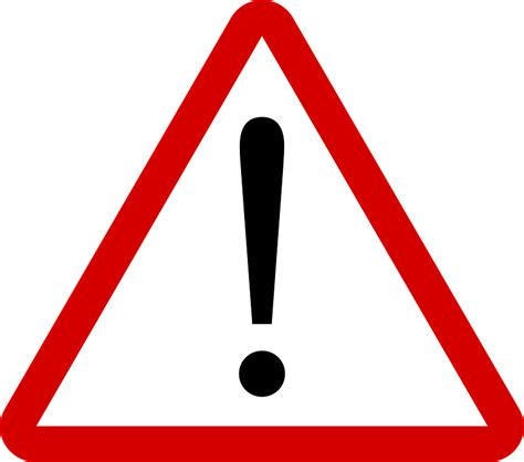 warning sign warning attention road sign 183 free vector graphic on pixabay