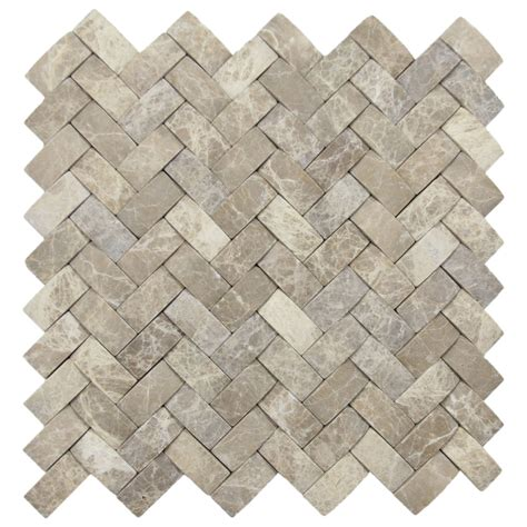 Subway Tile Kitchen Backsplashes 3d brown marble basket weave stone tile pebble tile shop